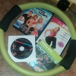 Other - Workout videos and Pilates ring